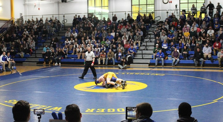 wrestling vs johnson and wales