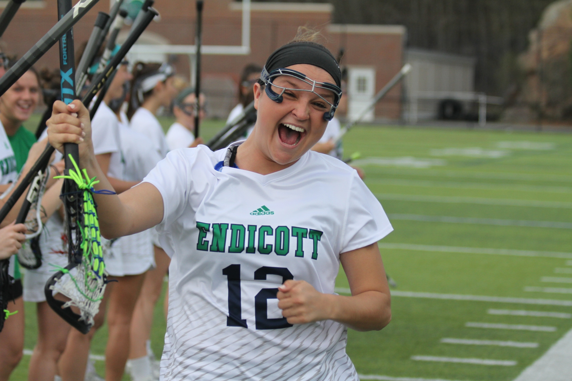 Roger Williams University vs. Endicott College 2018 CCC Women's Lacrosse Championship - 1