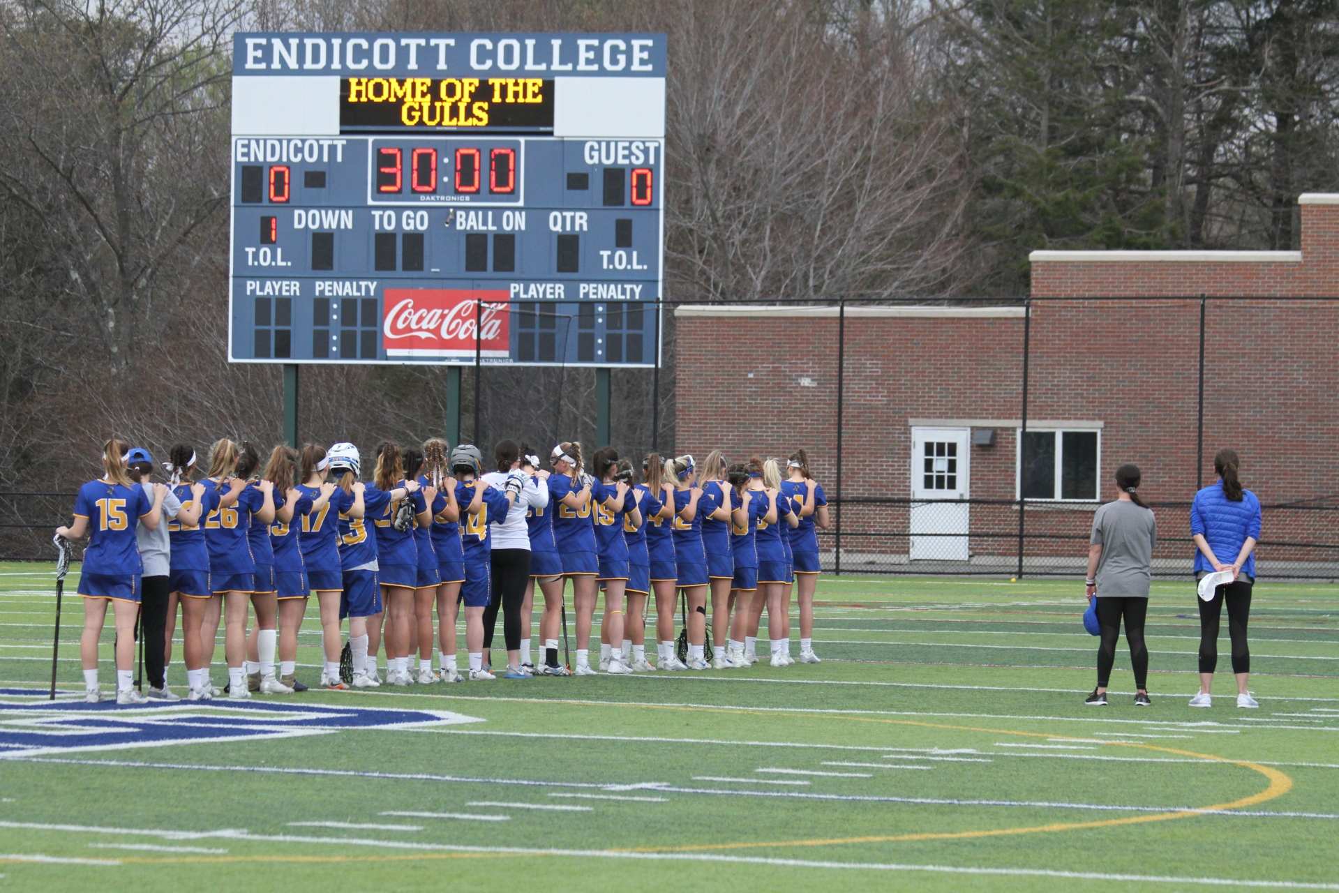 Roger Williams University vs. Endicott College 2018 CCC Women's Lacrosse Championship - 3
