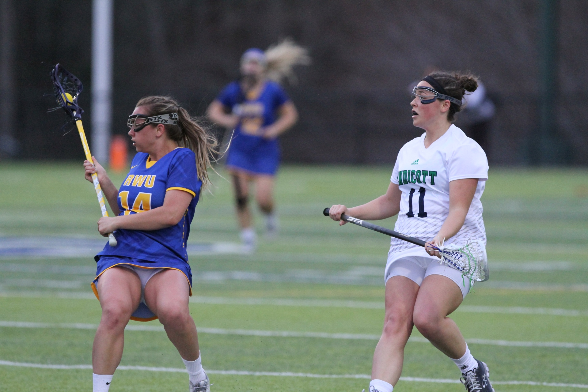 Roger Williams University vs. Endicott College 2018 CCC Women's Lacrosse Championship - 7
